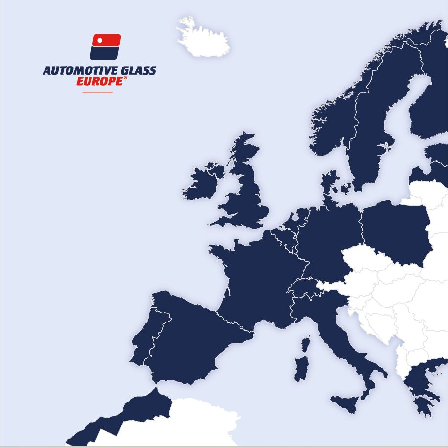 AUTOMOTIVE GLASS EUROPE map